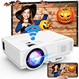 [WiFi Beamer] Beamer, Wireless Beamer 5000 Lumen Unterstützt 1080P Full HD, WiFi Projektor Native...