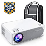 Beamer 6800 Lumens, Native 1080p Beamer Full HD, VANKYO Performance V630 Beamer Heimkino, mit...